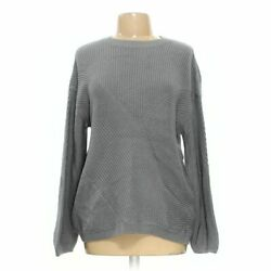 Gold Ray Women#x27;s Shirt size L grey nylon wool acrylic new with tags $12.45