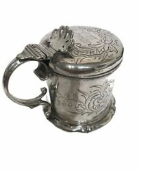 Victorian Silver Mustard Pot - London [- 1868 By Benjamin Smith
