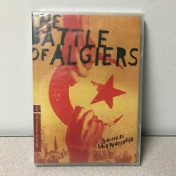 Battle Of Algiers Dvd 2013 3-disc Set Criterion Collection New Sealed
