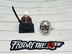 3 piece Friday The 13th Michael Set Figurine Ring amp; Iron On Patch Embroidered $17.95