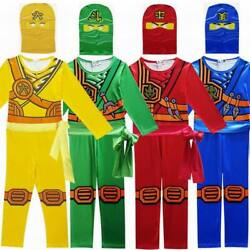 Lego Ninjago Advanced Latest Role Playing Costume Boys And Girls Jumpsuit Set