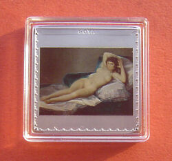 Spain 2019 200 Years Of The Prado Museum - Goya 10 Euro Silver Proof Coin