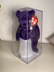 Ty Princess Diana Beanie Baby Pvc Authenticated By Peggy Gallagher