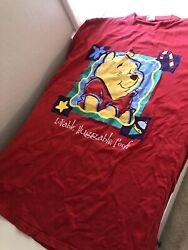 Collectible Vintage Disney Pooh Christmas Shirt - One Size Fits Most/xl