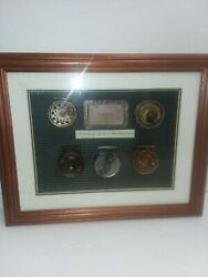 A Collection Of Antique Replicas Fly Reels And Ohio Fishing License