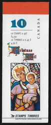Canada Booklet - Christmas Our Lady Of Rosary By Nincheri 1669a Bk202a Glued
