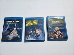 Lot Of 3 Family Guy Blu Ray Dvds Its A Trap Blue Harvest And Something Dark Side