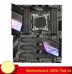 100 Tested For Msi Creator X299 Motherboard Support Intel X299/lga 2066