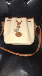 Dooney and bourke bucket bag leather Small Size Great Condition $120.00