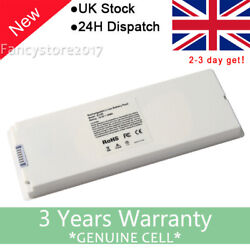 Battery A1185 For Apple Macbook 13 Late 2006 2007 2008 2009 A1181 White 59wh F