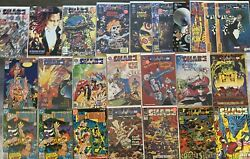 The Shade Changing Man Dc 1977 To 1990's - 24 Comics - 1st And 2nd Series Jla