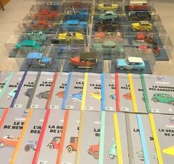 Hachette 1/24 Tintin Cars 1 To 38 Buy Individually Rare Model Voiture Figure