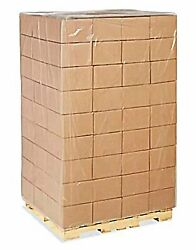 Clear Gaylord Liners/ Pallet Covers Plastic Poly Bags Ldpe Usa Made