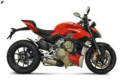 Termignoni Exhaust Ducati Street Fighter V4 / S Complete Kit Upmap And Filter