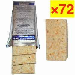 72×russian Emergency Daily Ration Ex.date 01/25 Survival Food Mre Bars Military