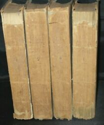 Very Rare The History And Antiquities Of Dissenting Churches 4 Vols 1808