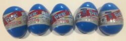 Ultraman 1 Mini Pez Set Of 5 From Japan - W/ Eggs, Bands, Candy - Everything