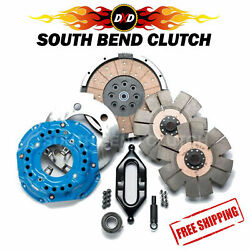 Southbend Stage 6 Dual Disc Clutch Kit For 94-04 Dodge Cummins W/o Input Shaft