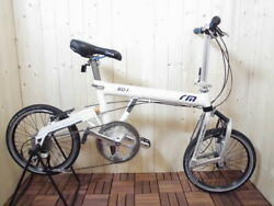 Riese And Manduumlller Birdy Bd-1 / Used Folding Bike / White Color