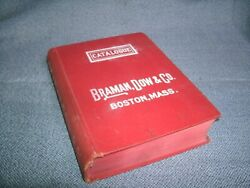 1913 Book BRAMAN DOW Boston Catalog G7 Gas Steam Plumbing Industrial ILLUSTRATED
