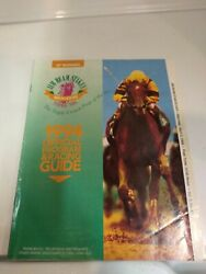 Jim Beam Stakes 1994 Official Program And Racing Guide Free Shipping