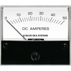 Blue Sea Systems 8022 Dc Analog Ammeter 2-3/4 Face 0-50 Amp