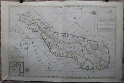 Antique Map-sea Chart-madagascar-saint Augustin-covens And Mortier-1695