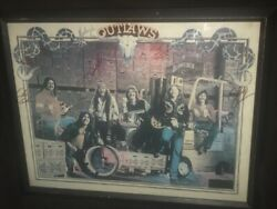 5 Signed Outlaws Playin To Win Budweiser Concert Program 1979 Yoho Dix Thomasson