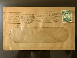 1942 Southern Rhodesia Zambia Cover King George Vi Stamp