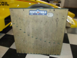 Vintage Logo Proto Tools Dealer Store Wrench Tool Display Rack Indy 500 Racing