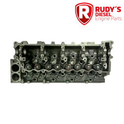 New Cylinder Head With Valves For Isuzu 4.8l Diesel 4he1/4he1t 1998-2004