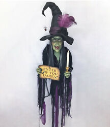 Katherine's Collection Haunted Witch Wall Piece 28-028717 New Halloween