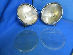 Vintage Headlights Parabeam Brown1920and039s Rat Rod Custom Car Truck 1930and039s