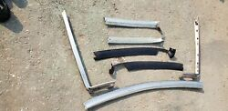 1965 -68 Chevy Impala Ss 2 Dr. Conv Winshield Outer Andinterior Molding Set