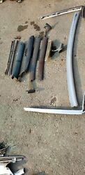 1968 Chevy Impala Ss Conv Inner Outer Windshield Trim Set Complete