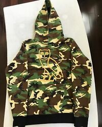 Ovo Og Owl Hoodie Snow Camo Green 2015 Gold Embroidered Octobers Very Own Drake
