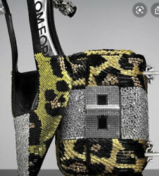 Tom Ford Crystal Animalier Shoes - Brand New - Rrp3415 Aud