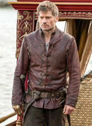 Jaime Lannister Game Of Throne Got Leather Menand039s Jacket Coats Winter Gift