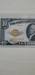 10 1928 Gold Certificate More Currency For Sale All Month