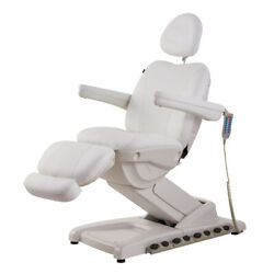 Full Electrical 4 Motor Facial Beauty Bed Doctor Tattoo Medical Podiatry Chair