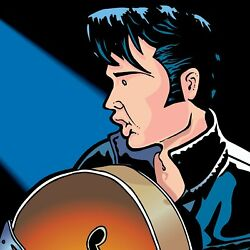 Elvis Presley By Anthony Parisi Limited Edition Print
