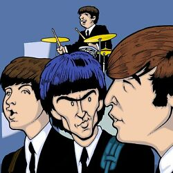Beatles Sullivan Show By Anthony Parisi Limited Edition Print