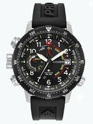 Citizen Eco-drive Menand039s Promaster Altichron Ion Plated 47mm Watch Bn5058-07e