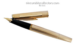 Rare N 1276 Solid 585 Gold Fountain Pen 1970 S