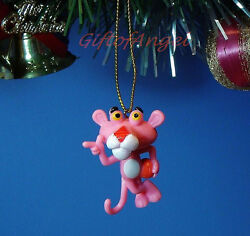 Decoration Ornament Home Party Christmas Tree Decor Pink Panther Cartoon N5