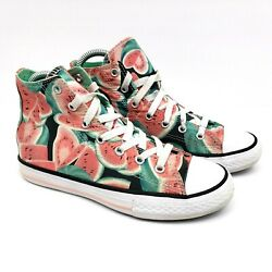 Converse Chuck Taylor All Star Kids Size 3Y Watermelon Hi Sneaker Shoes 656026F $31.58