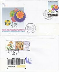 2006 Turkey 50th Turkish Atomic Energy Authority Registered Fdc Nuclear Energy