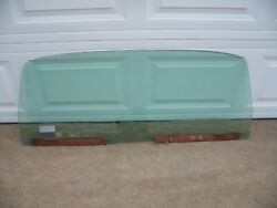 1976 Chrysler Station Wagon New Yorker Town And Country Rear Tailgate Window Glass