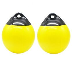 X-haibei Pair Of Boat Fenders Ball Round Anchor Buoy Dock Bumper Ball Vinyl