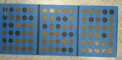 65 Coin Set 1909-1940 Lincoln Wheat Penny Cent - Early Dates Collection  282